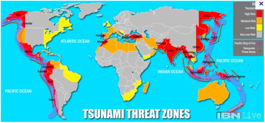 Explanation of Tsunamis - Australia and Tsunami